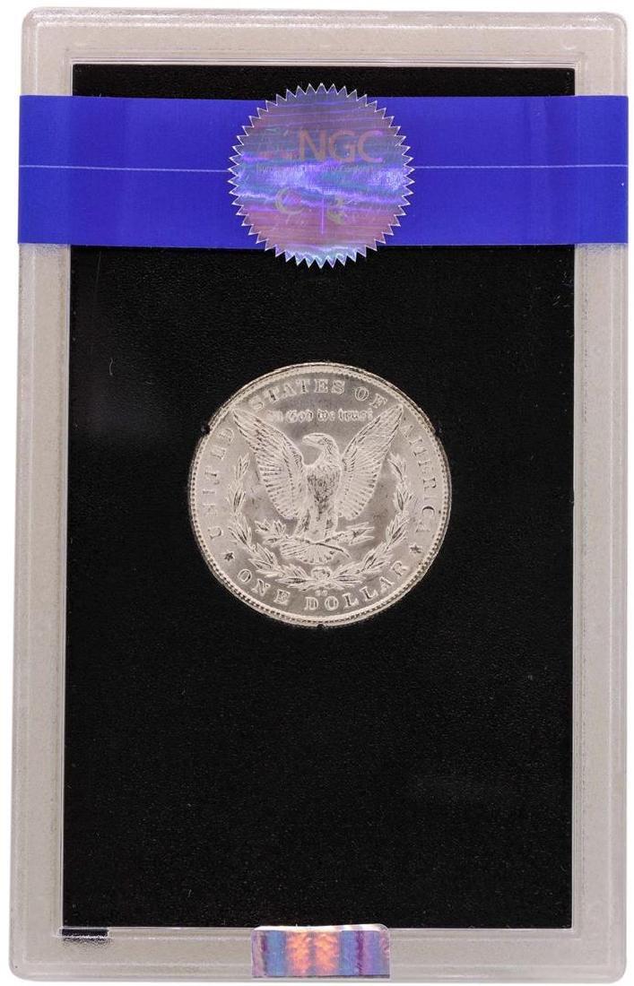 1880-CC $1 Morgan Silver Dollar Uncirculated Coin GSA - 2