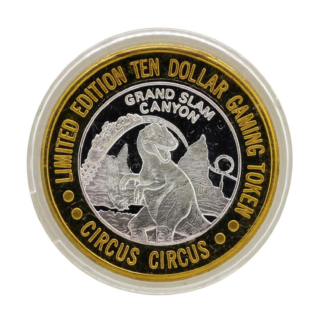 .999 Silver Circus Circus Hotel & Casino $10 Limited