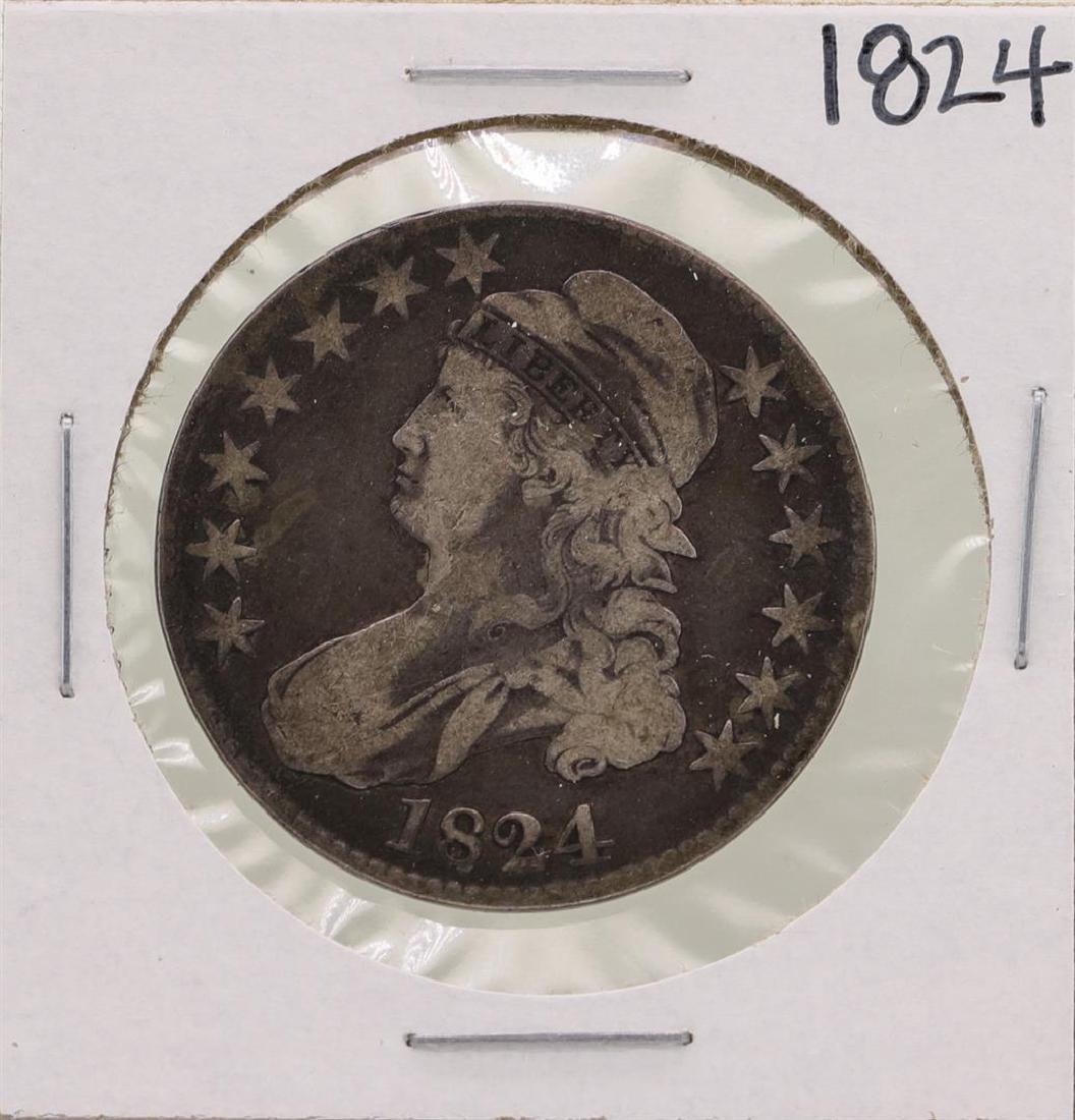 1824 Capped Bust Half Dollar Coin
