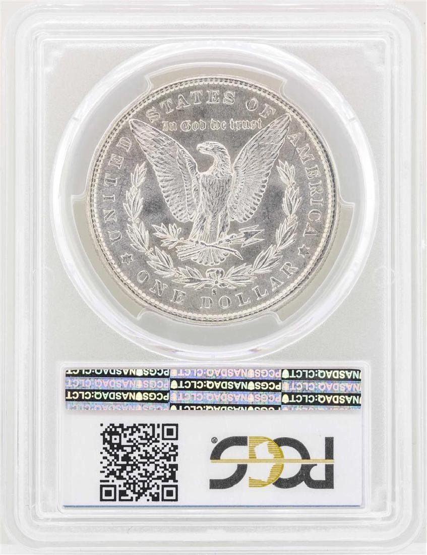 1881-S $1 Morgan Silver Dollar Coin PCGS MS63 - 2