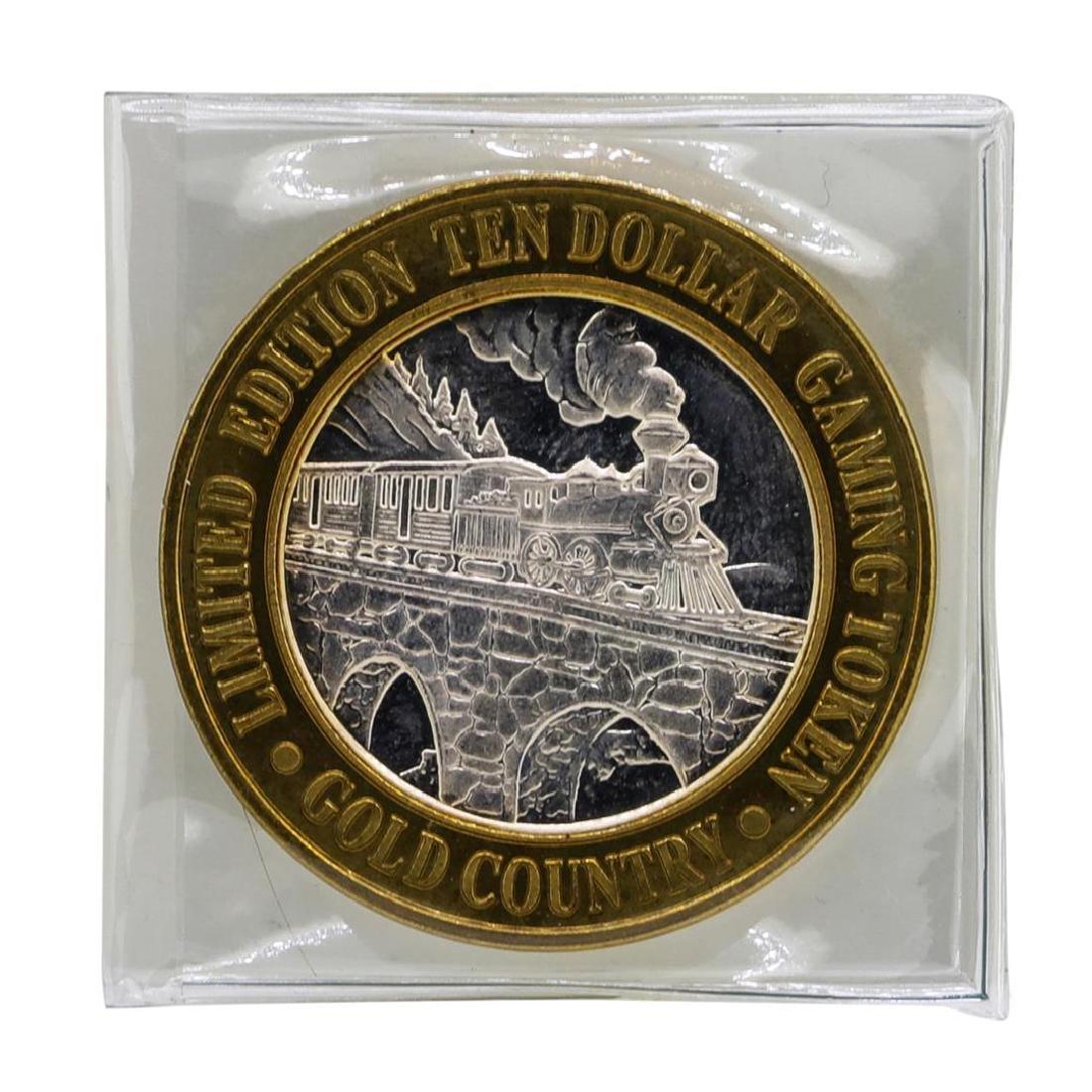 .999 Silver Gold Country Motor Inn Elko, NV $10 Limited