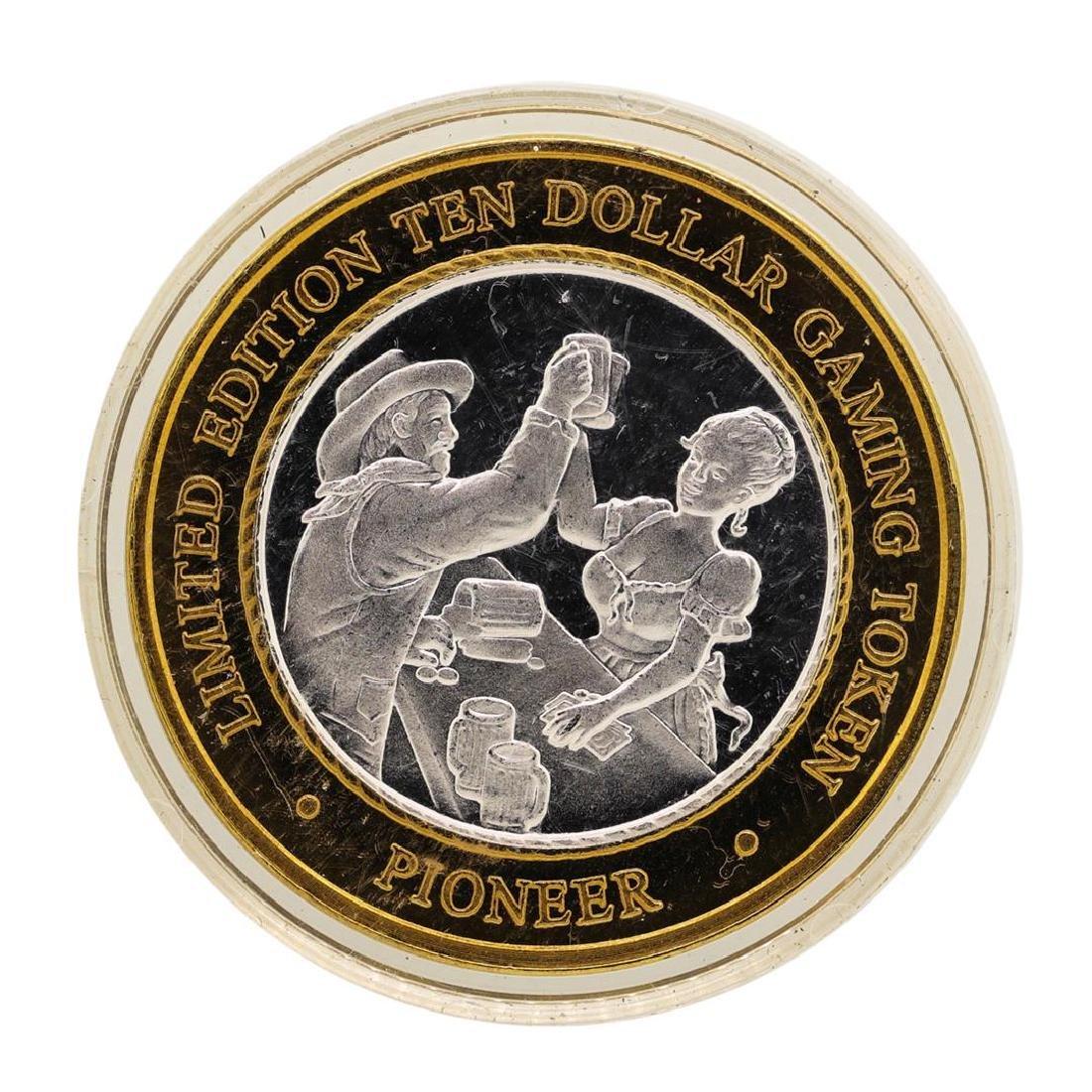 .999 Silver Pioneer Hotel & Gambling Hall $10 Casino