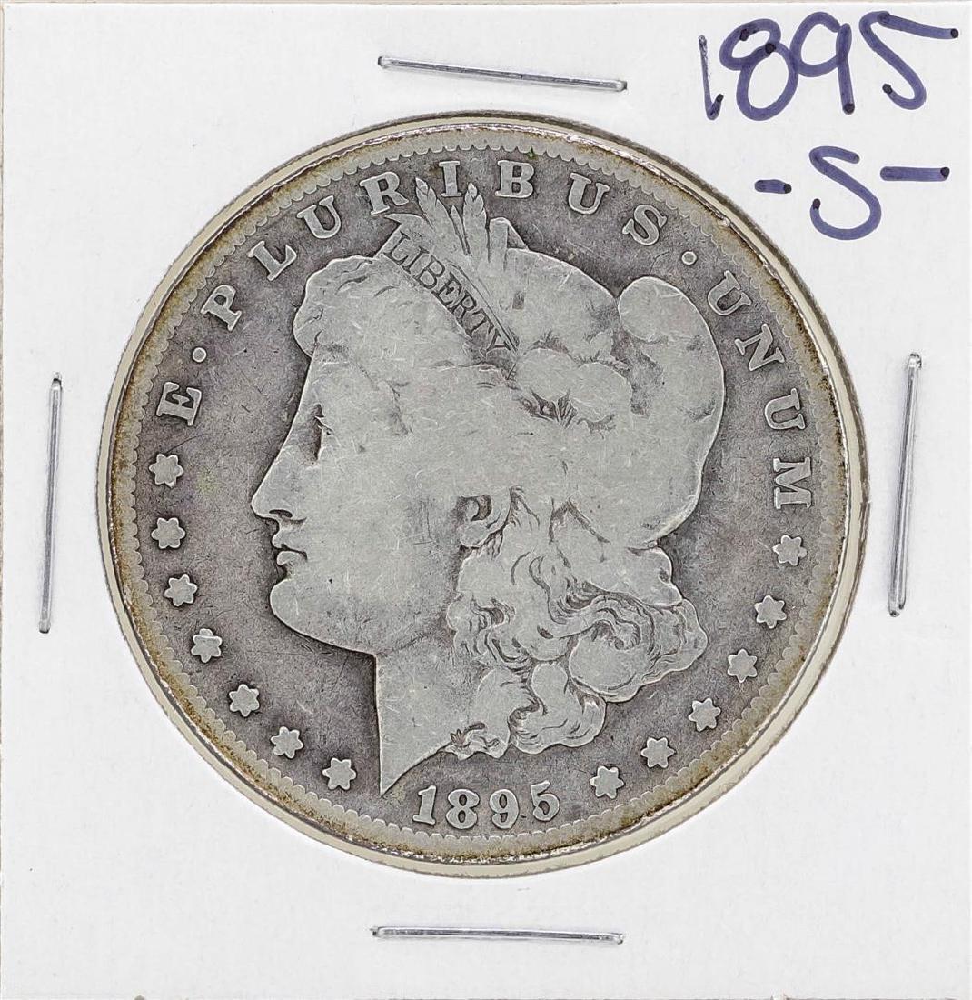 1895-S $1 Morgan Silver Dollar Coin