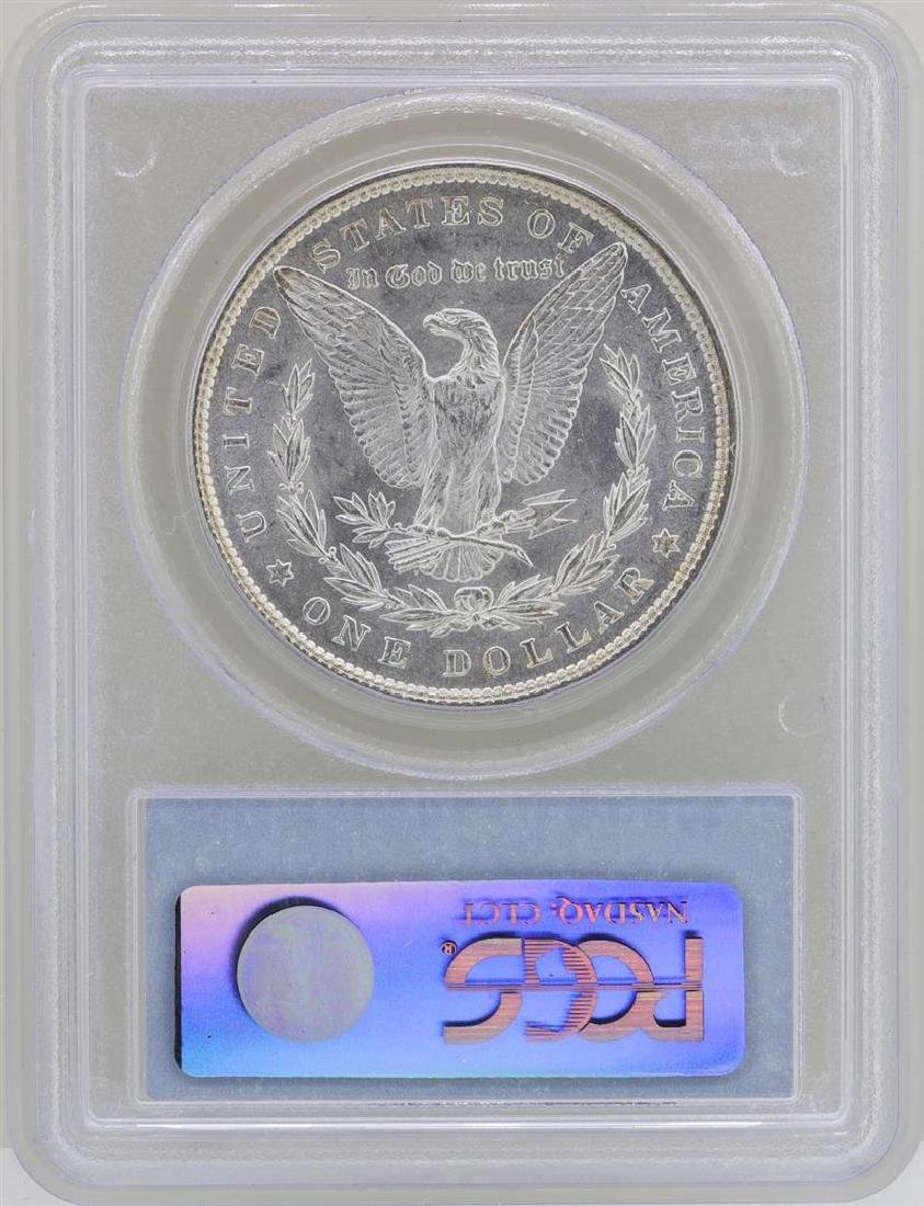 1886 $1 Morgan Silver Dollar Coin PCGS MS62 - 2