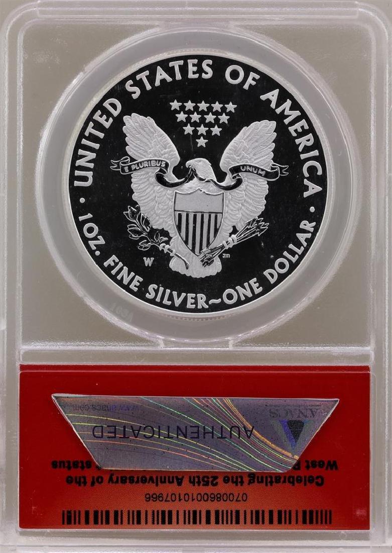 2013-W $1 American Silver Eagle Coin ANACS EU70 - 2