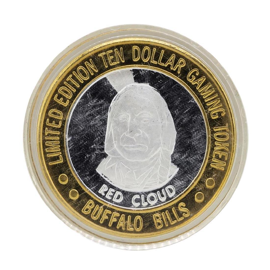 .999 Silver Buffalo Bills Resort & Casino $10 Limited