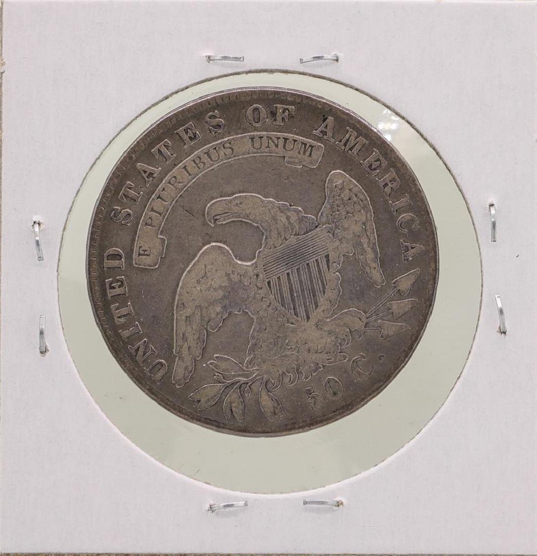 1836 Capped Bust Half Dollar Coin - 2