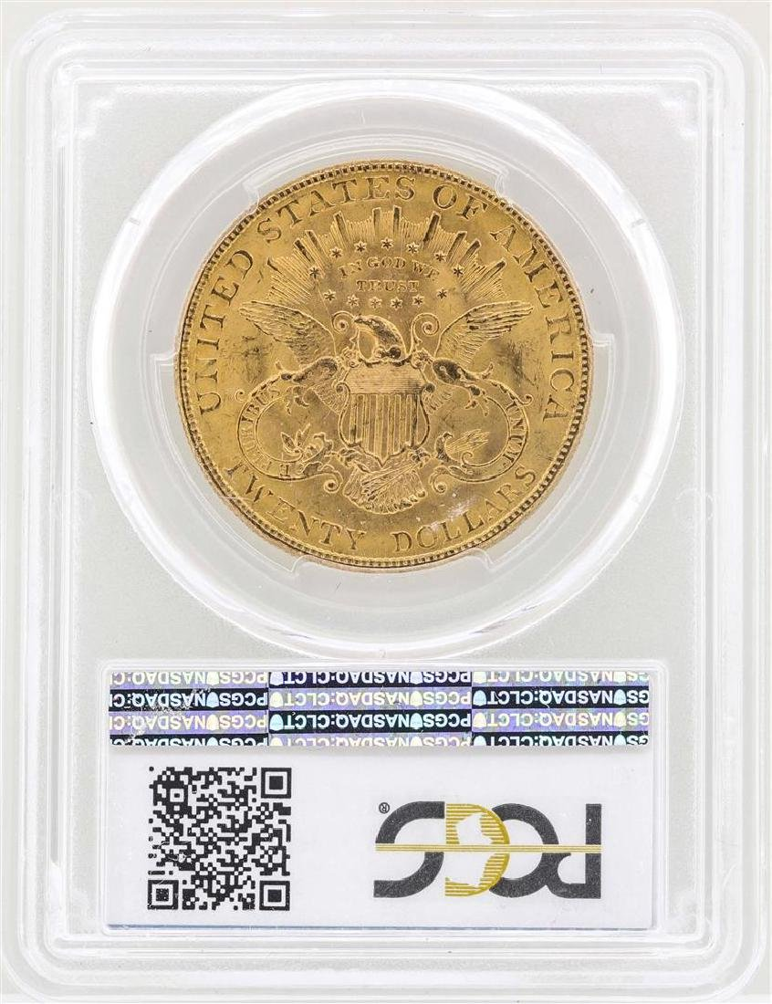 1907 $20 Liberty Head Double Eagle Gold Coin PCGS MS62 - 2