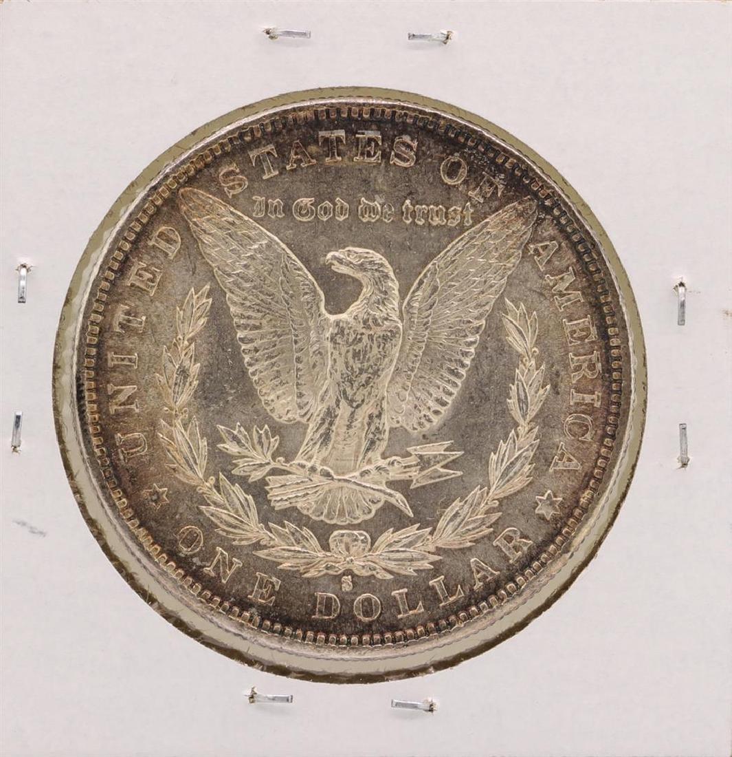 1882-S $1 Morgan Silver Dollar Coin - 2