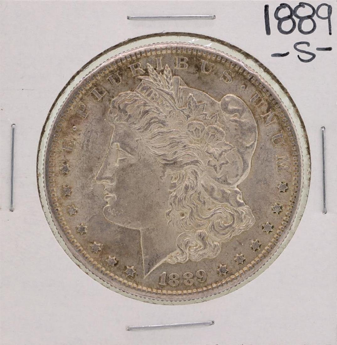 1889-S $1 Morgan Silver Dollar Coin