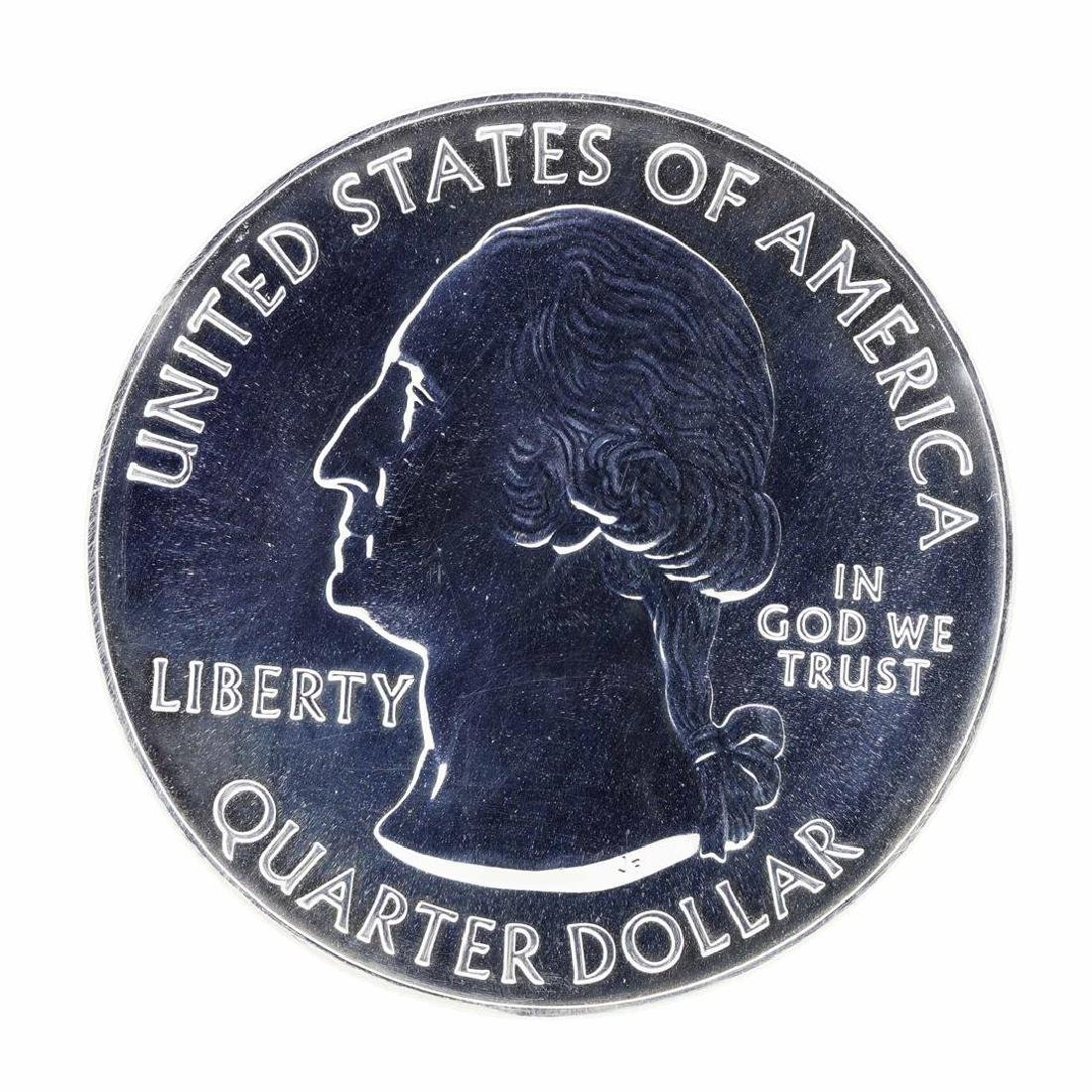 2016 5oz Silver ATB Shawnee Illinois Silver Coin - 2
