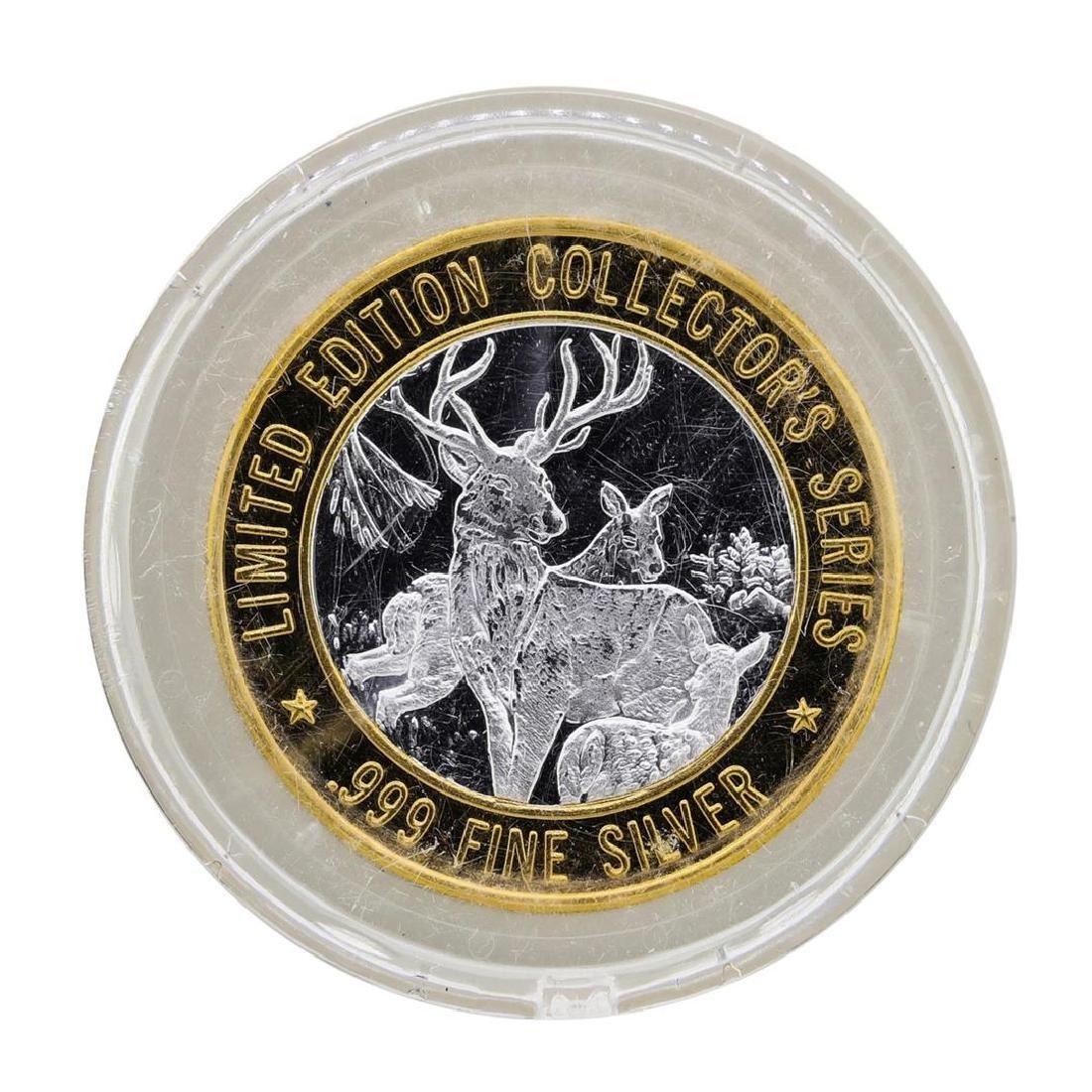 .999 Silver Bad River Lodge Casino Odanah, WI $10 - 2