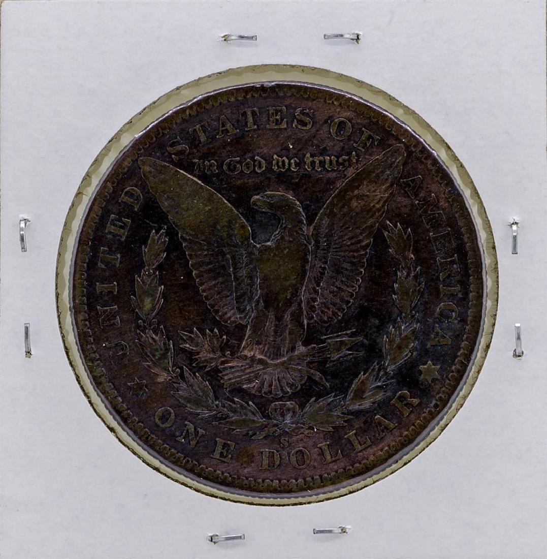 1895-S $1 Morgan Silver Dollar Coin - 2