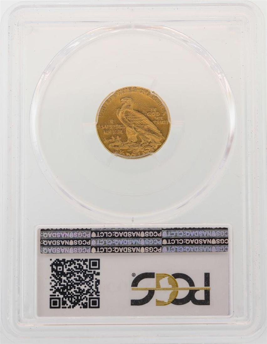 1912 $2 1/2 Indian Head Quarter Eagle Gold Coin PCGS - 2
