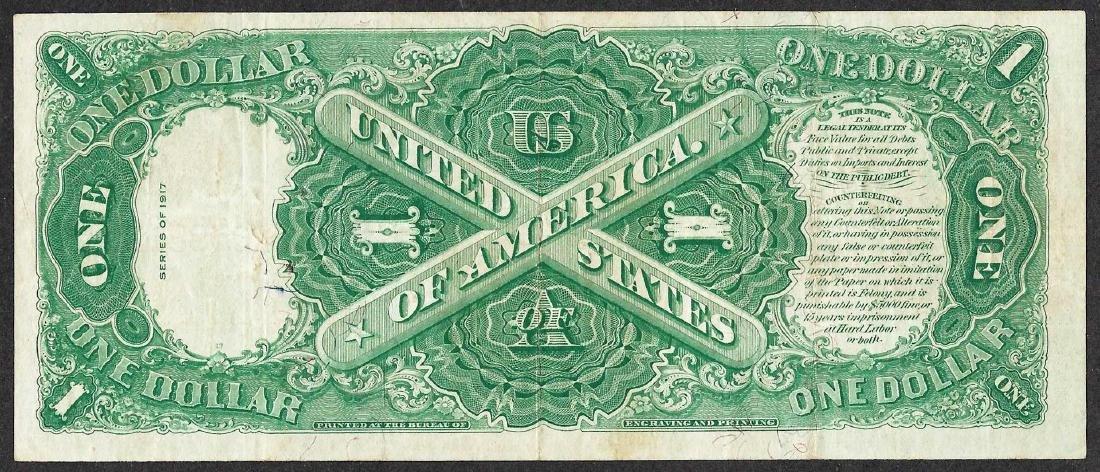 1917 $1 Legal Tender Note - 2