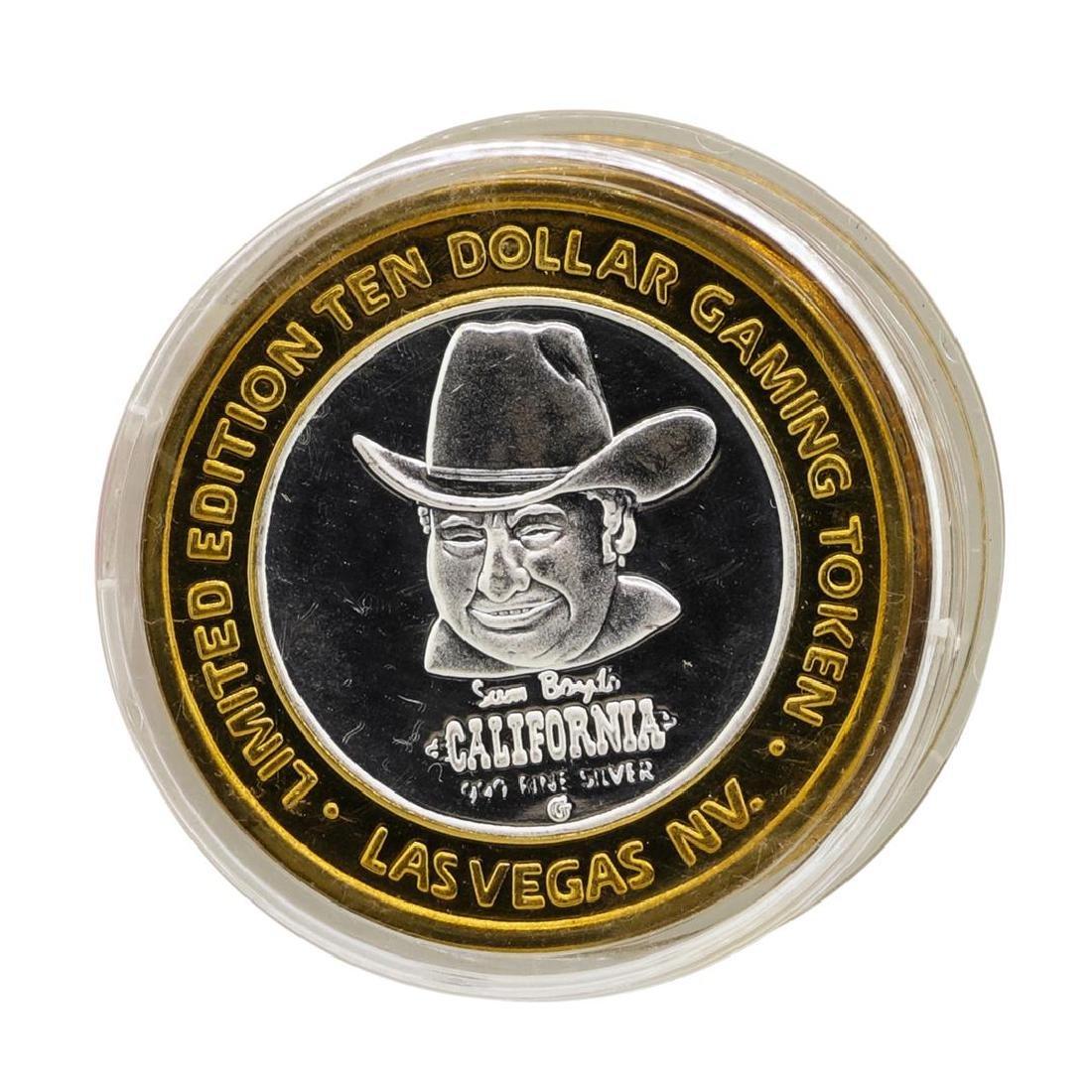 .999 Silver Sam Boyd's California Hotel $10 Casino