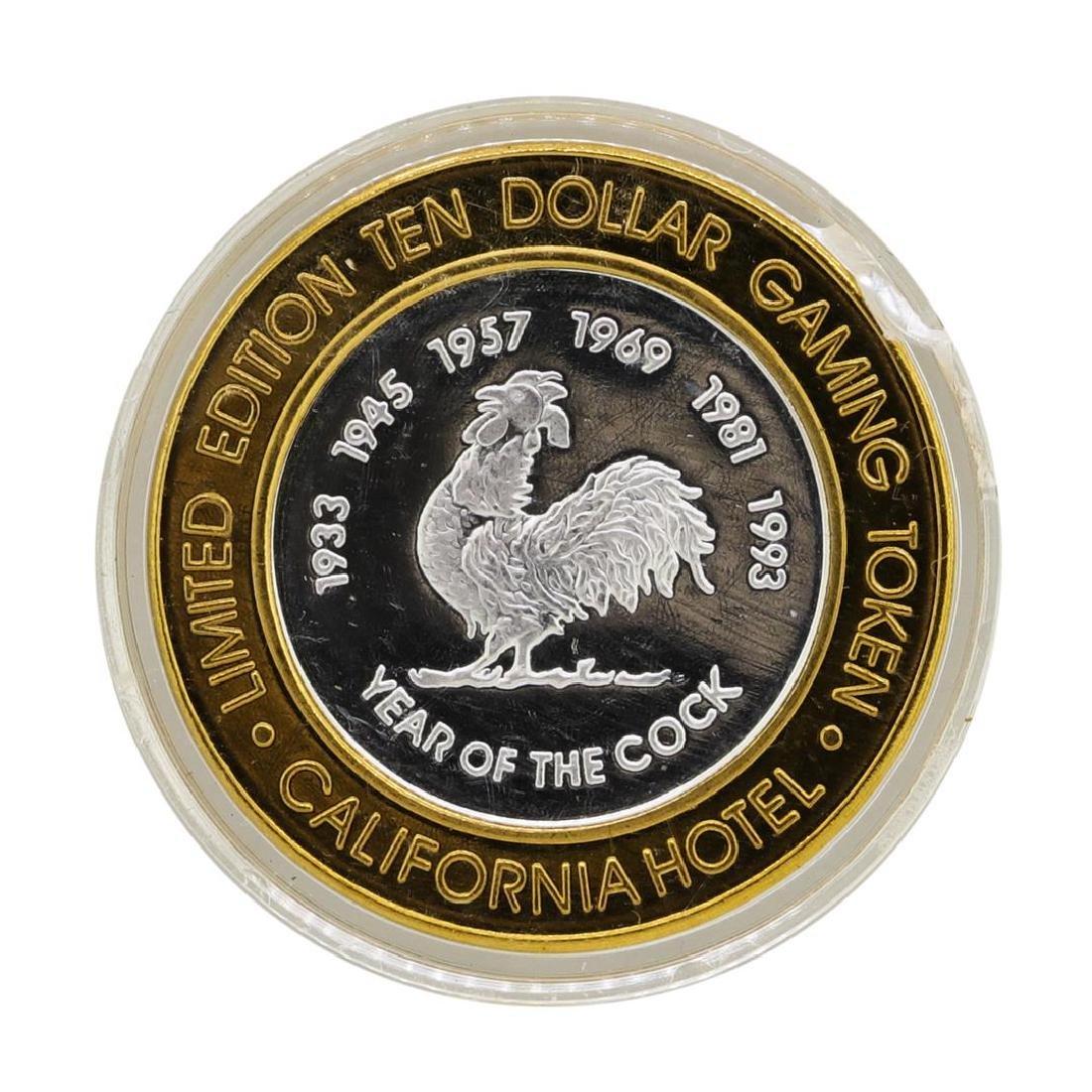 .999 Silver Sam Boyd's California Hotel $10 Casino - 2