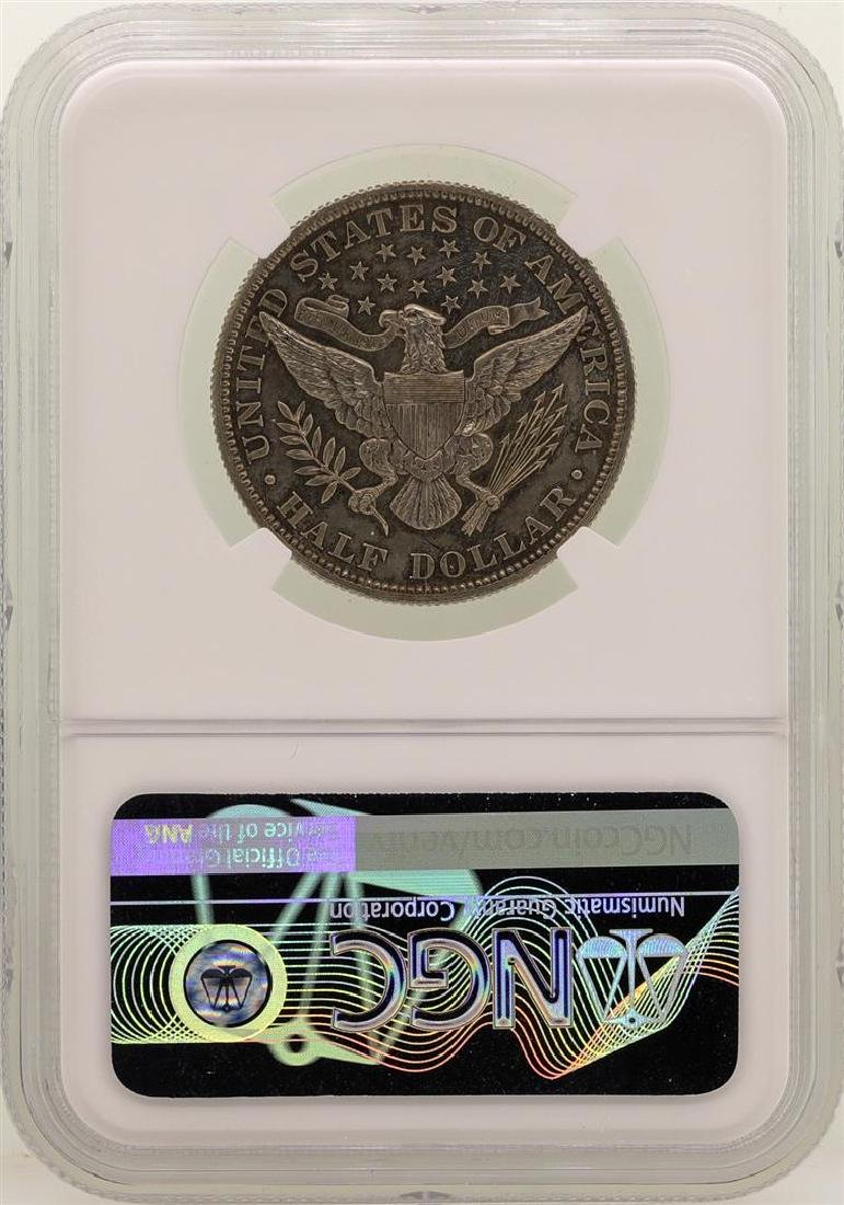 1906 Barber Half Dollar Proof Silver Coin NGC PF62 - 2