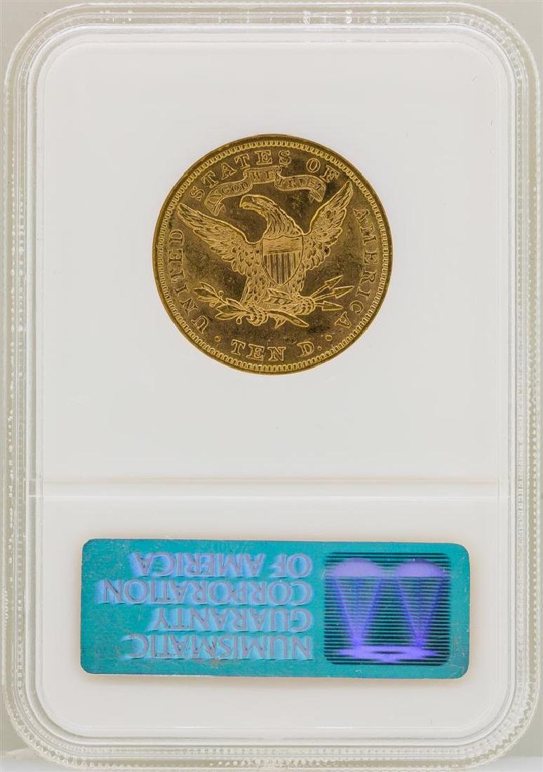 1893 $10 Liberty Head Eagle Gold Coin NGC MS61 - 2