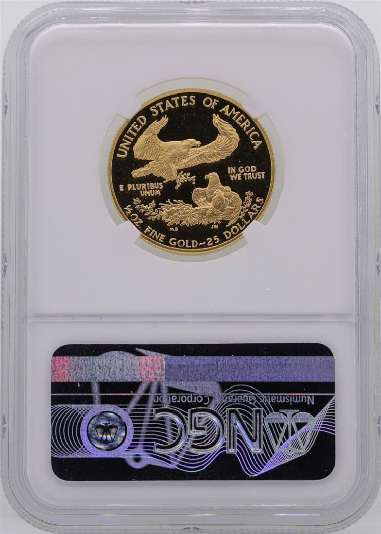 1988-P $25 American Gold Eagle Coin NGC PF69 Ultra - 2