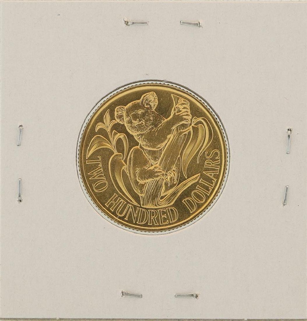 1983 $200 Australia Koala Gold Coin - 2