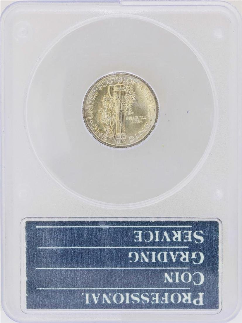 1940 Mercury Dime Coin PCGS MS66FB Rattler - 2