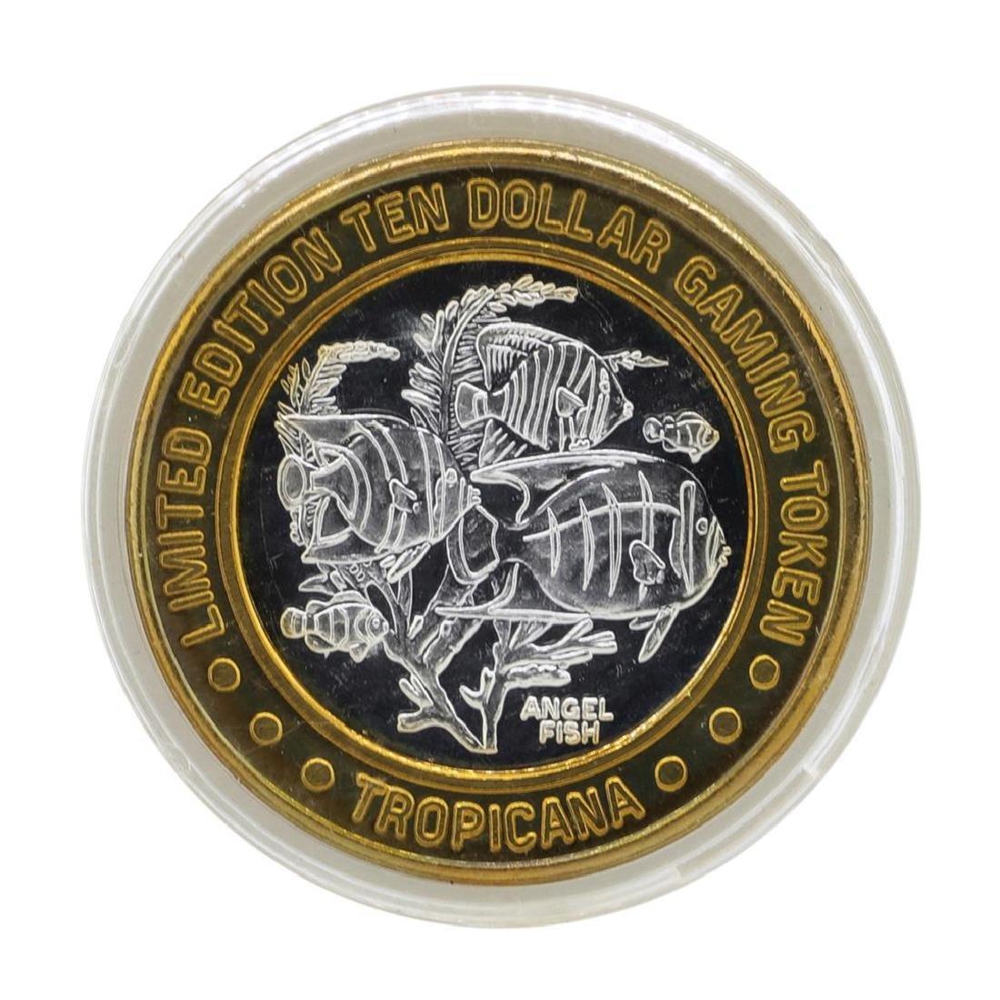 .999 Silver Tropicana Las Vegas, Nevada $10 Casino
