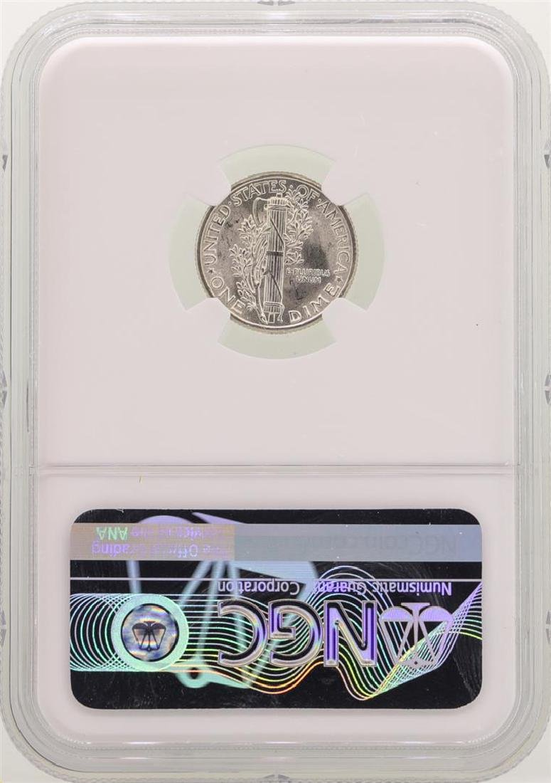 1936 Mercury Dime Coin NGC MS66 - 2
