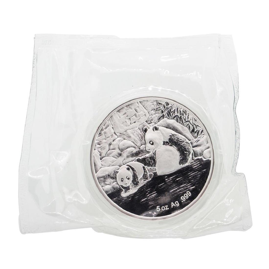 2015 F.U.N. Show 60th Anniversary 5oz Silver Panda Coin