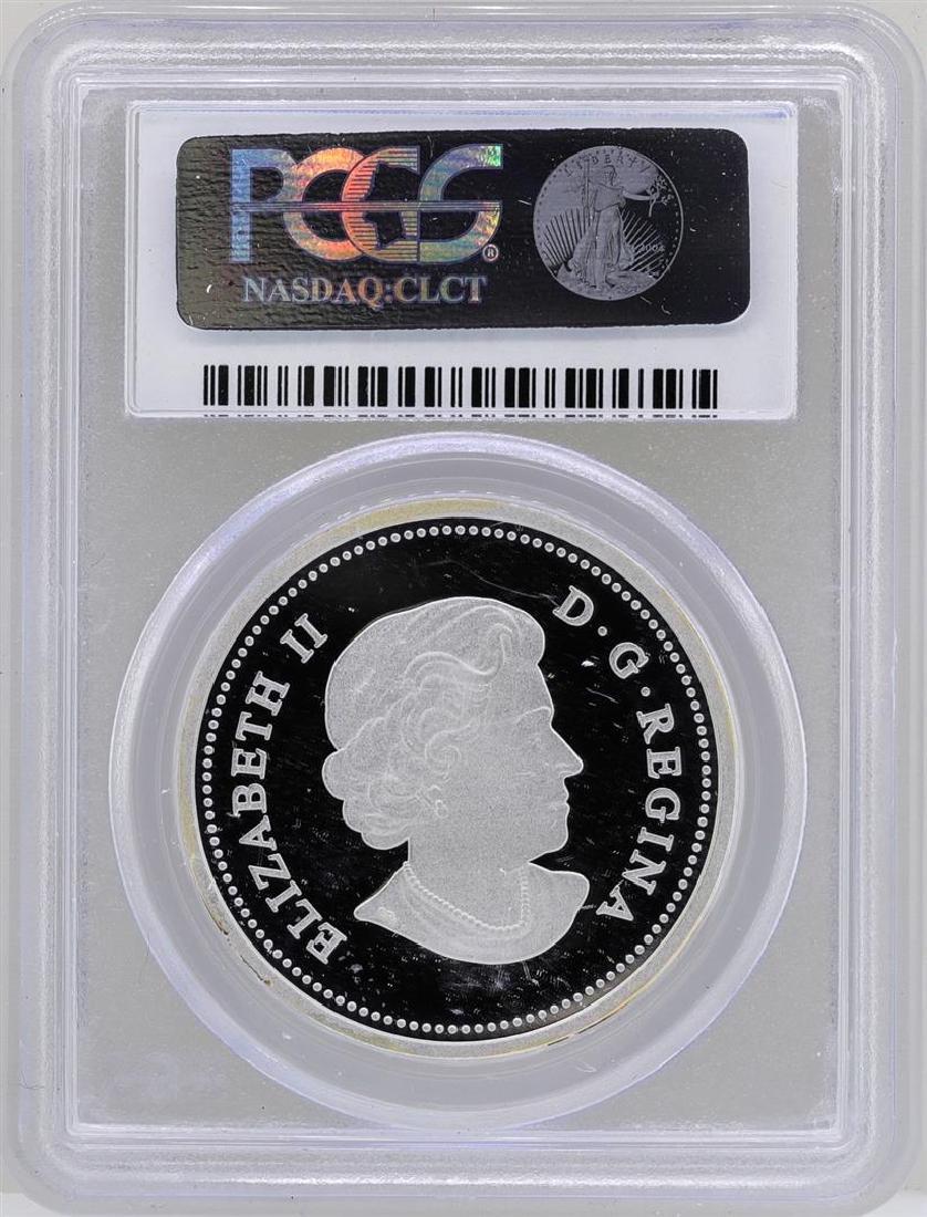 2013 $20 Canada Lifelong Mates Silver Coin PCGS - 2