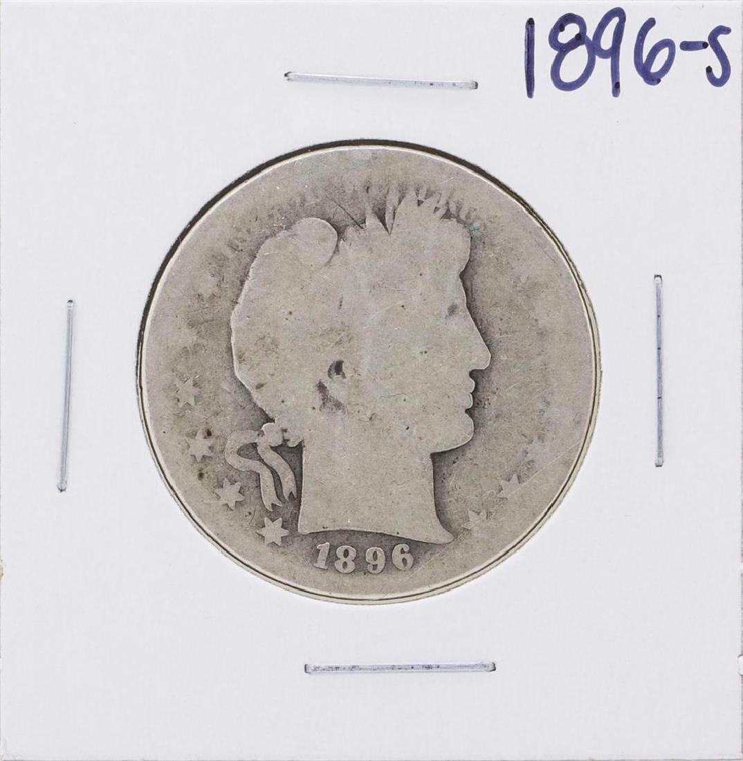 1896-S Barber Half Dollar Coin