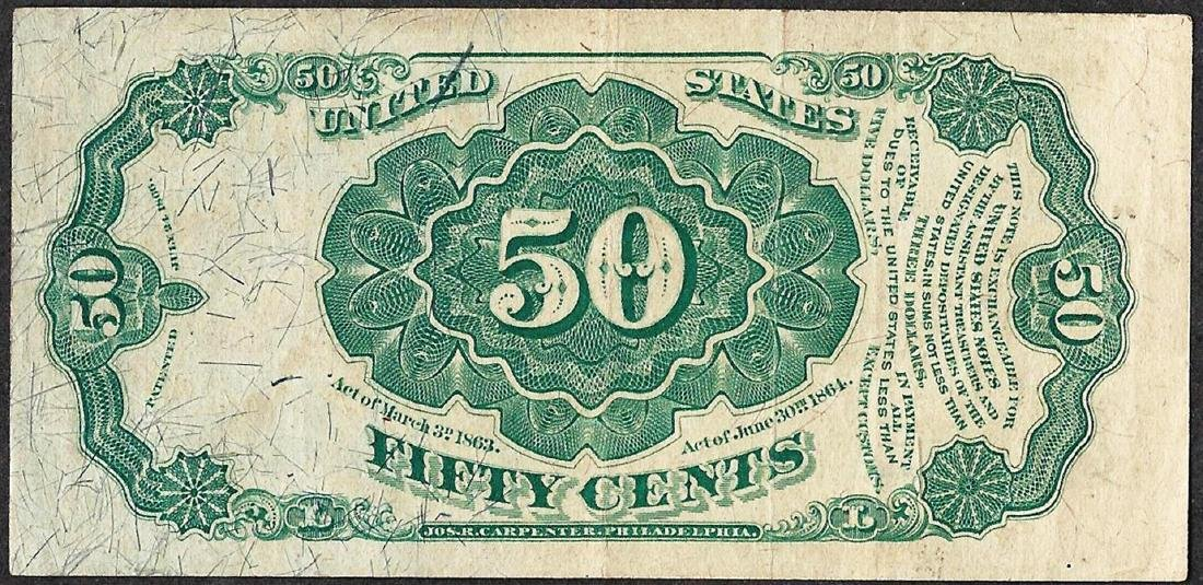 1875 Twenty-Five Cent 5th Issue Fractional Note - 2