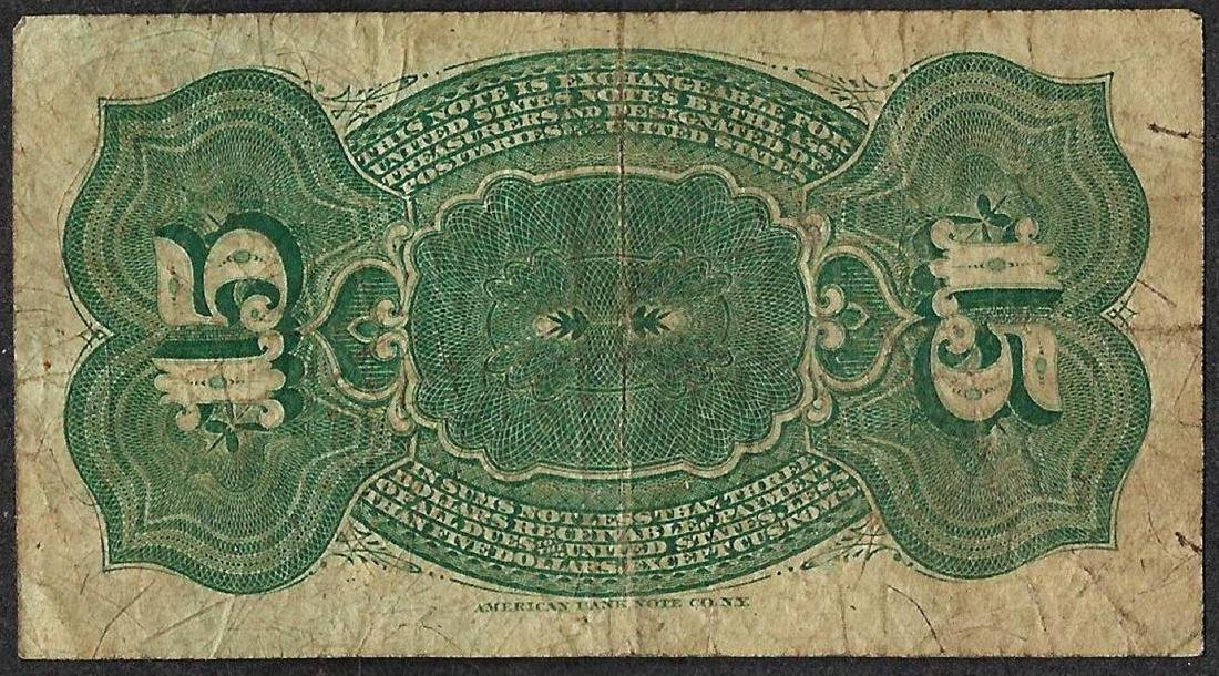 March 3, 1863 Fifteen Cent 4th Issue Fractional Note - 2