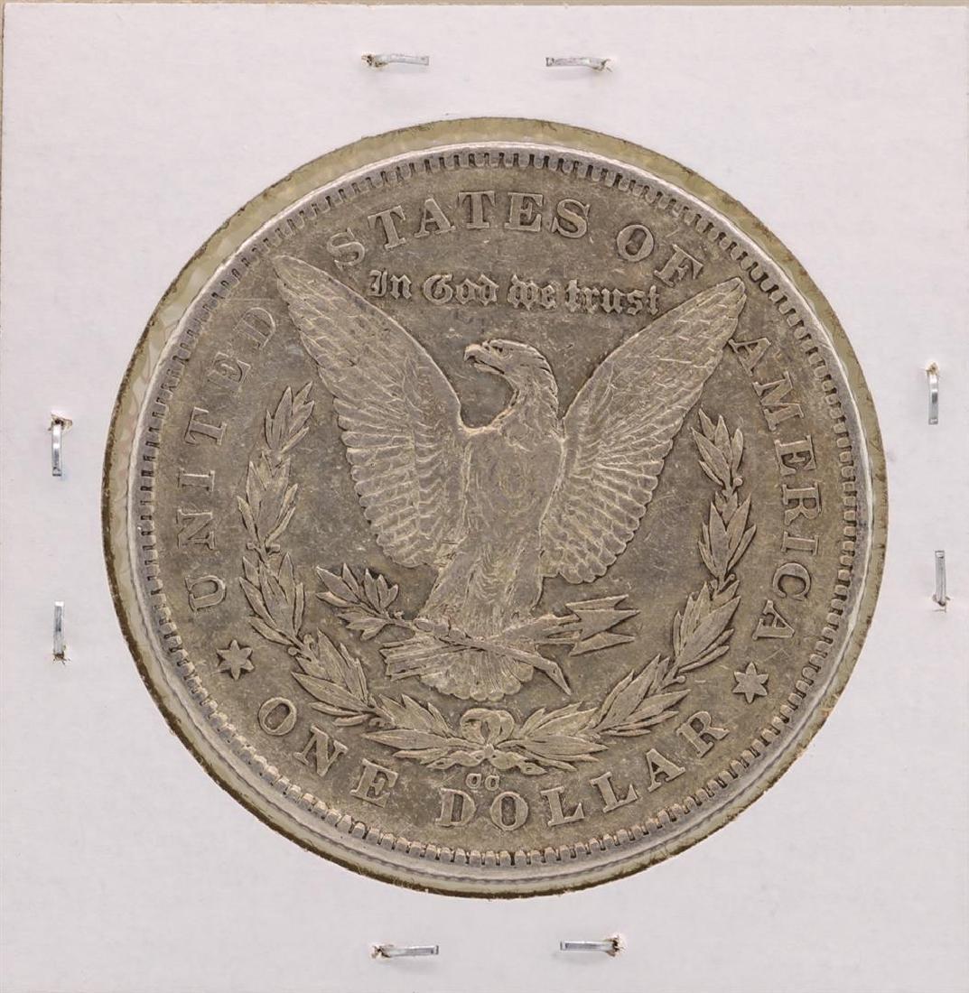 1878-CC $1 Morgan Silver Dollar Coin - 2