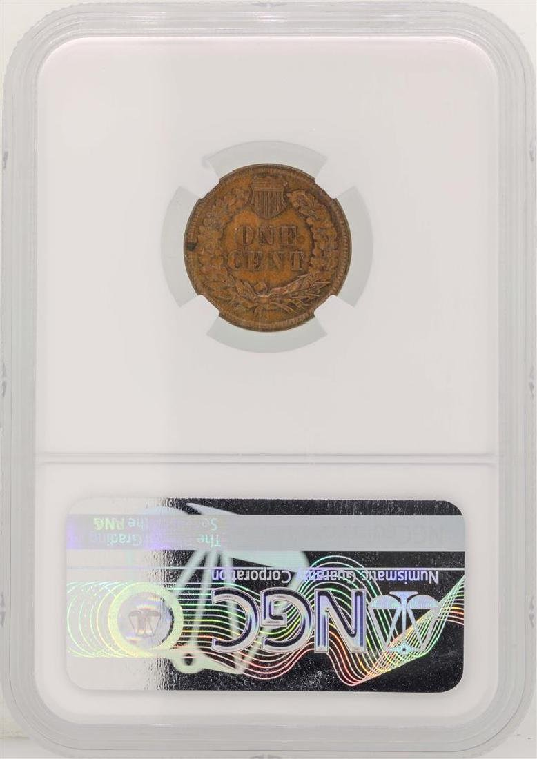 1905 Indian Head Cent Coin NGC MS61 BN - 2