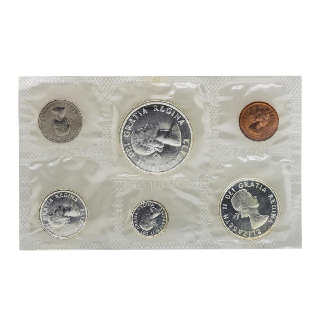 Lot of 1962-1964 Canada (6) Coin Proof Sets w/ Envelope - 4