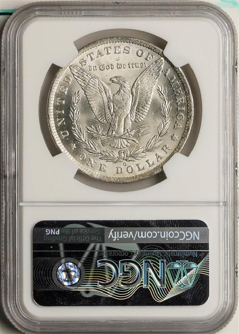 1884-O $1 Morgan Silver Dollar Coin NGC MS63 - 2