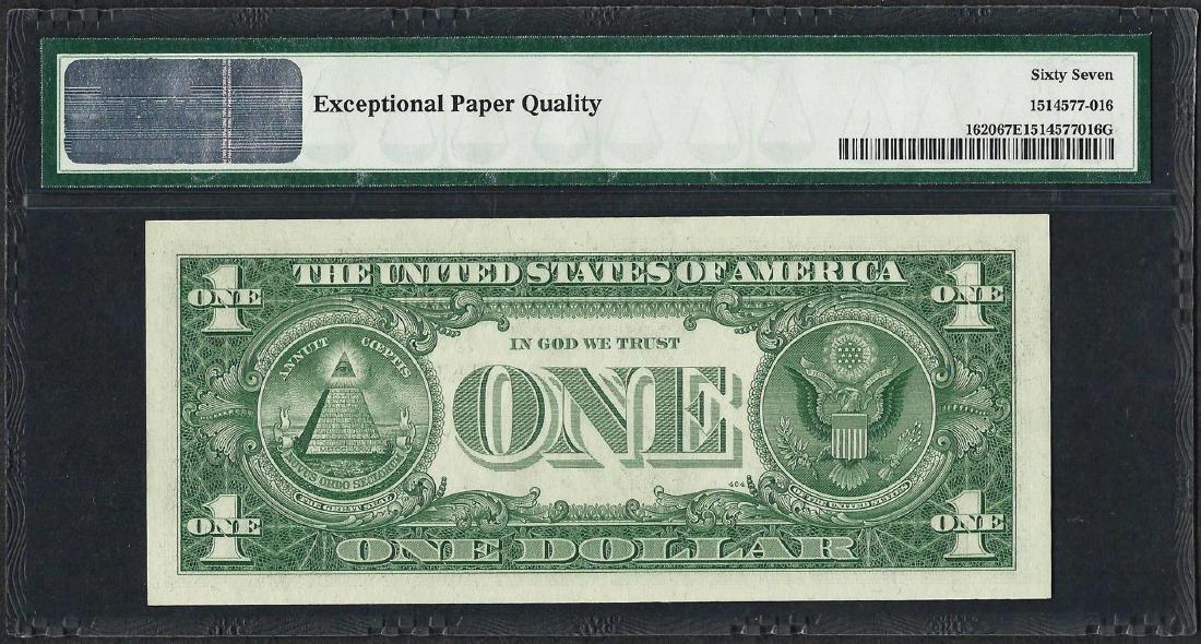 1957A $1 Silver Certificate Note Fr.1620 PMG Superb Gem - 2