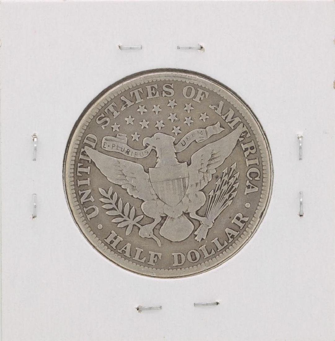 1913 Barber Half Dollar Coin - 2