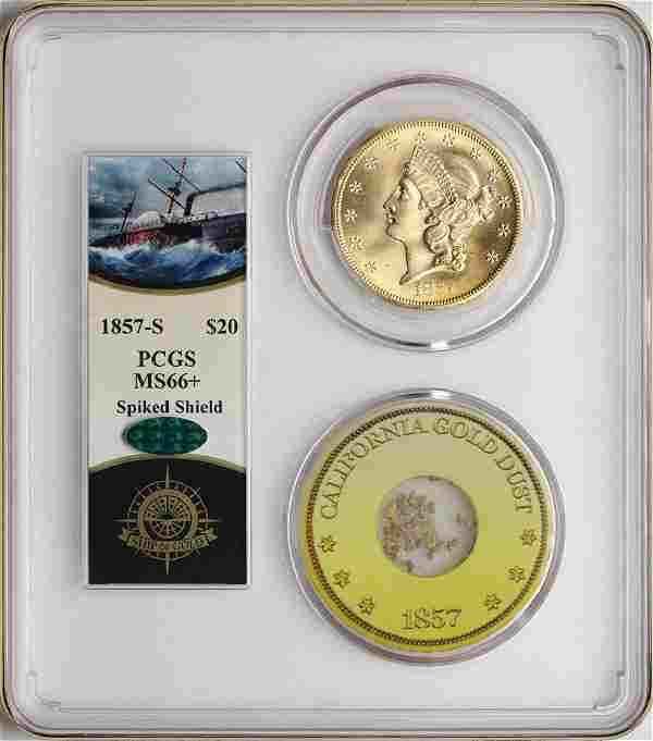 S.S. Central America Shipwreck 1857-S $20 Double Eagle