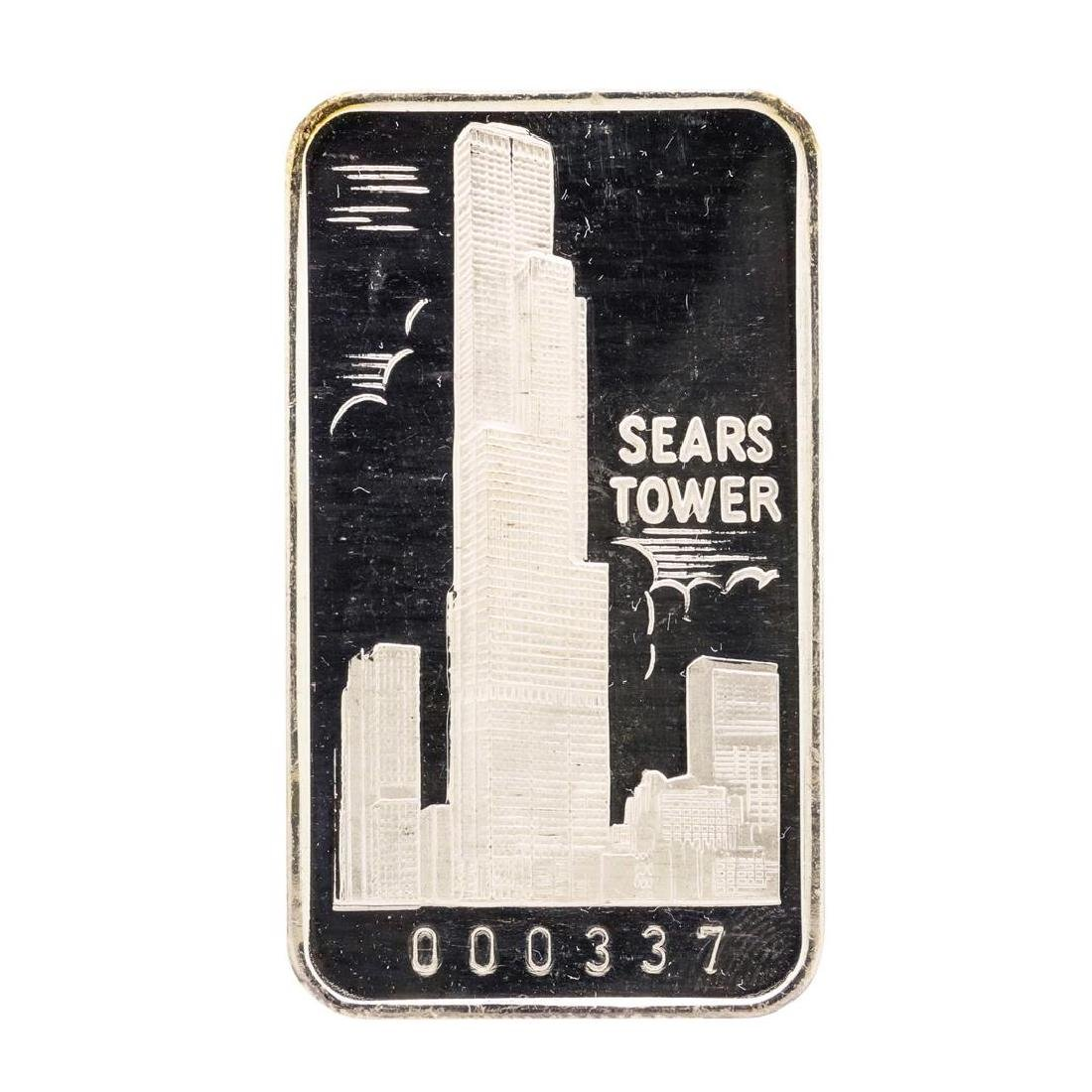The First National Bank of Chicago Sears Tower 1 oz