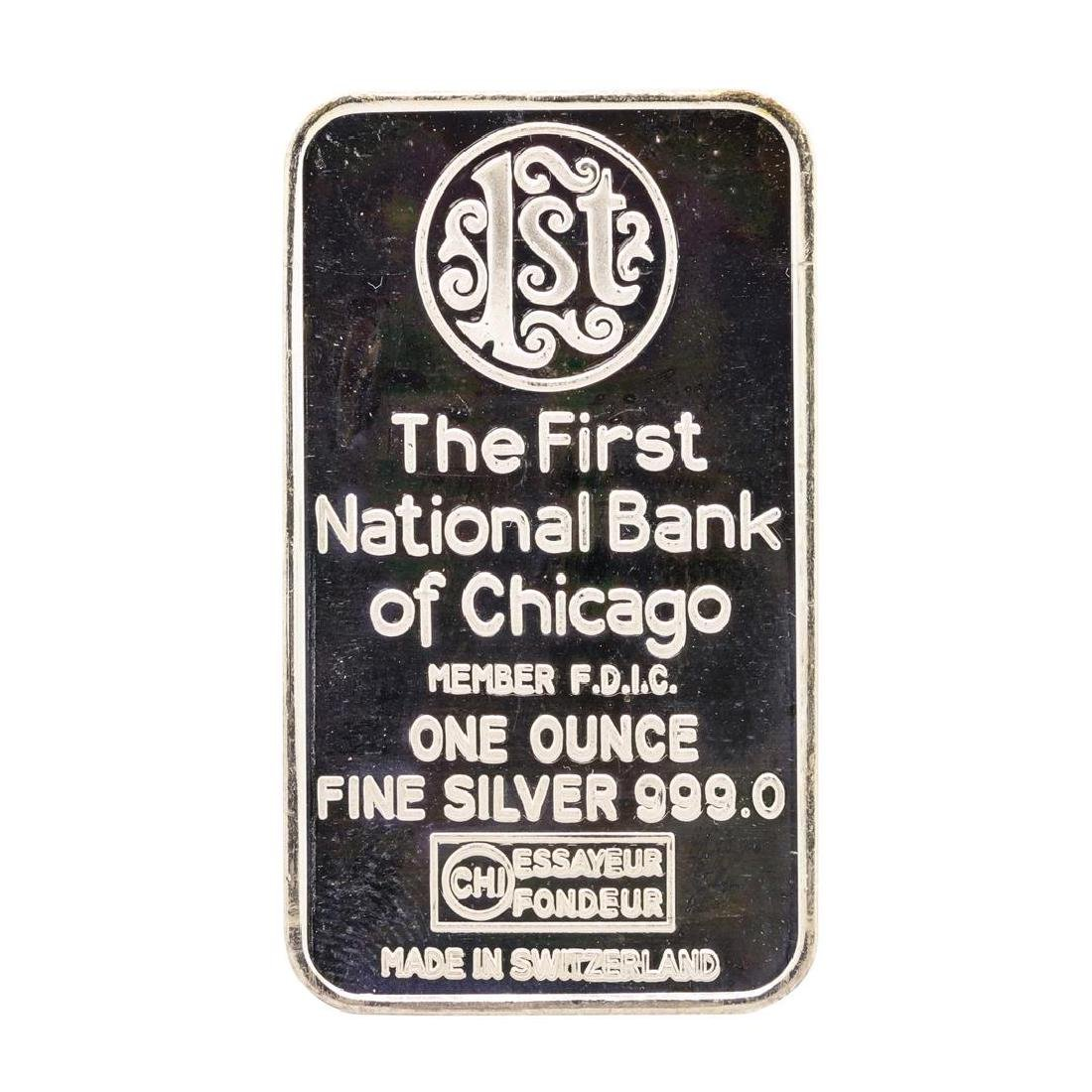 The First National Bank of Chicago Sears Tower 1 oz - 2