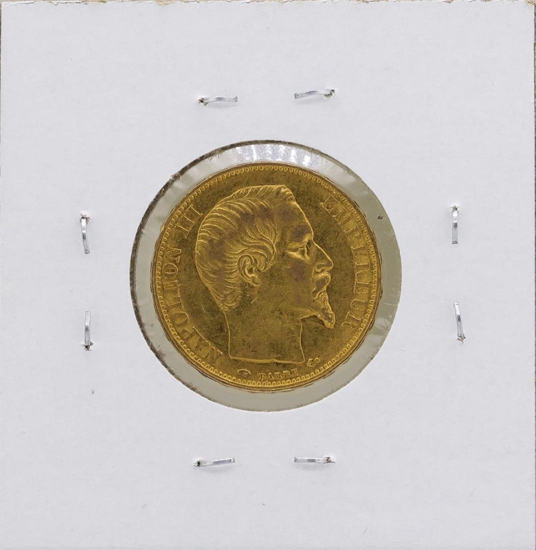 1859-A France 20 Francs Gold Coin