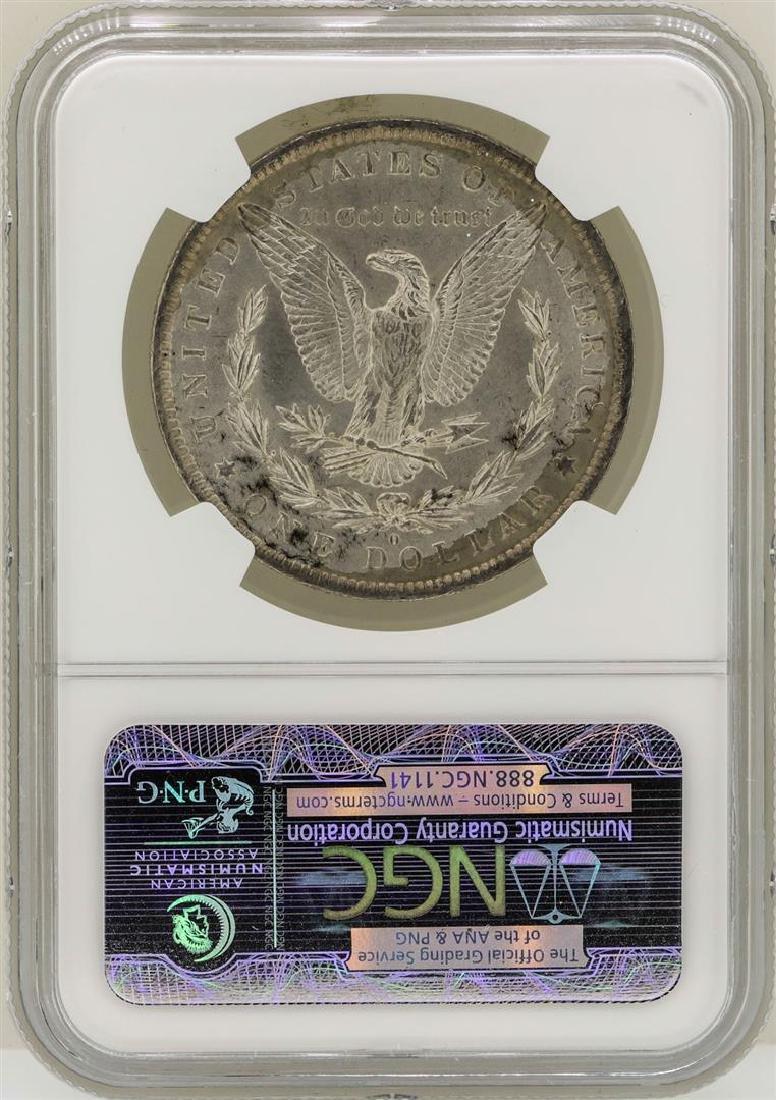1884-O $1 Morgan Silver Dollar Coin NGC MS65 - 2