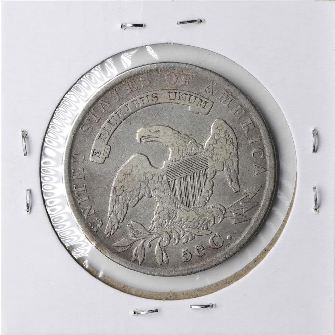 1834 Capped Bust Half Dollar Coin - 2