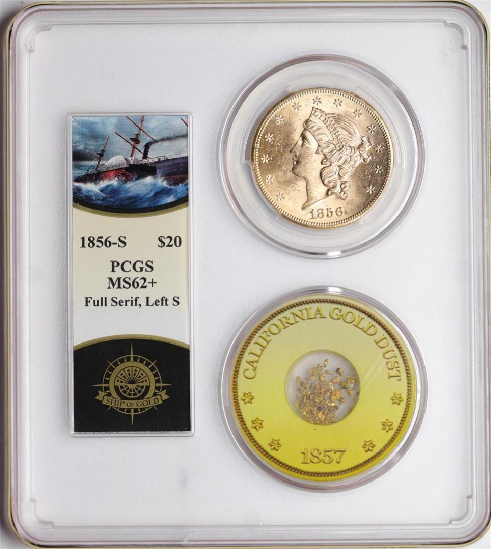 S.S. Central America Shipwreck 1856-S $20 Double Eagle