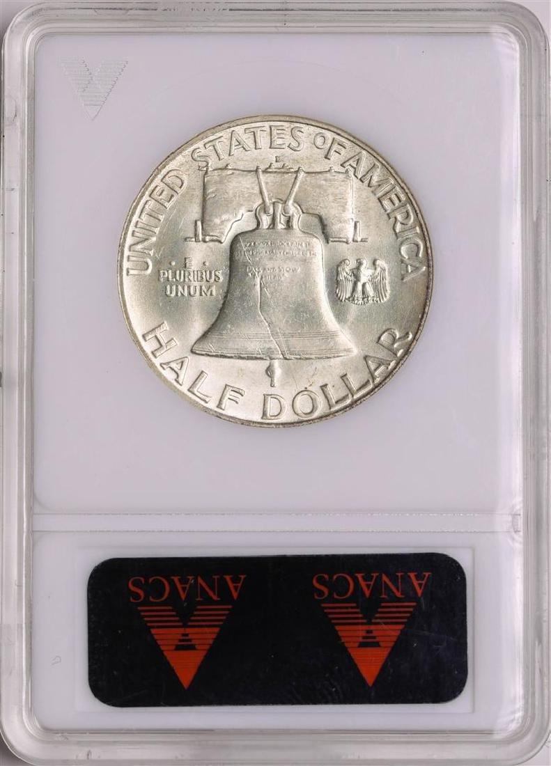 1949-D Franklin Half Dollar Coin ANACS MS63 - 2