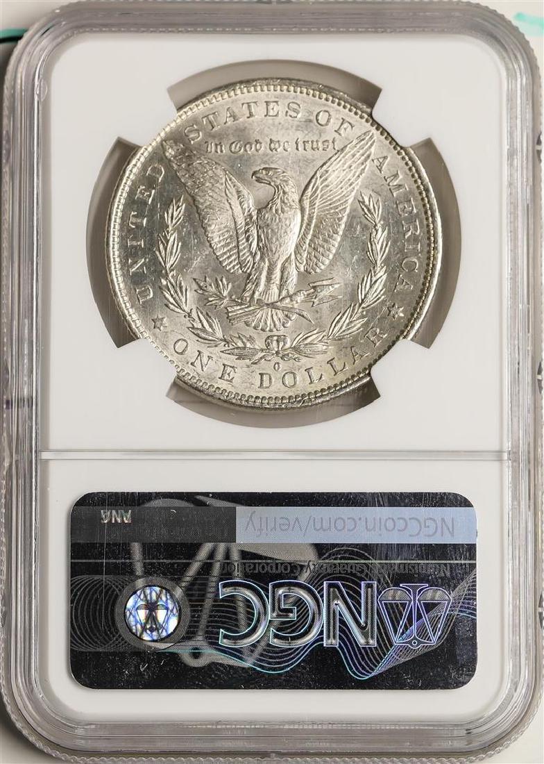 1883-O $1 Morgan Silver Dollar Coin NGC MS63 - 2