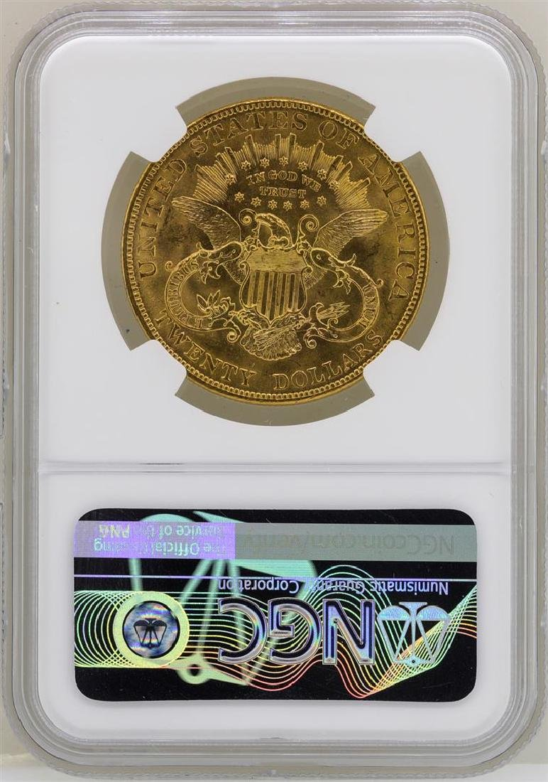 1904 $20 Liberty Head Double Eagle Gold Coin NGC MS63 - 2