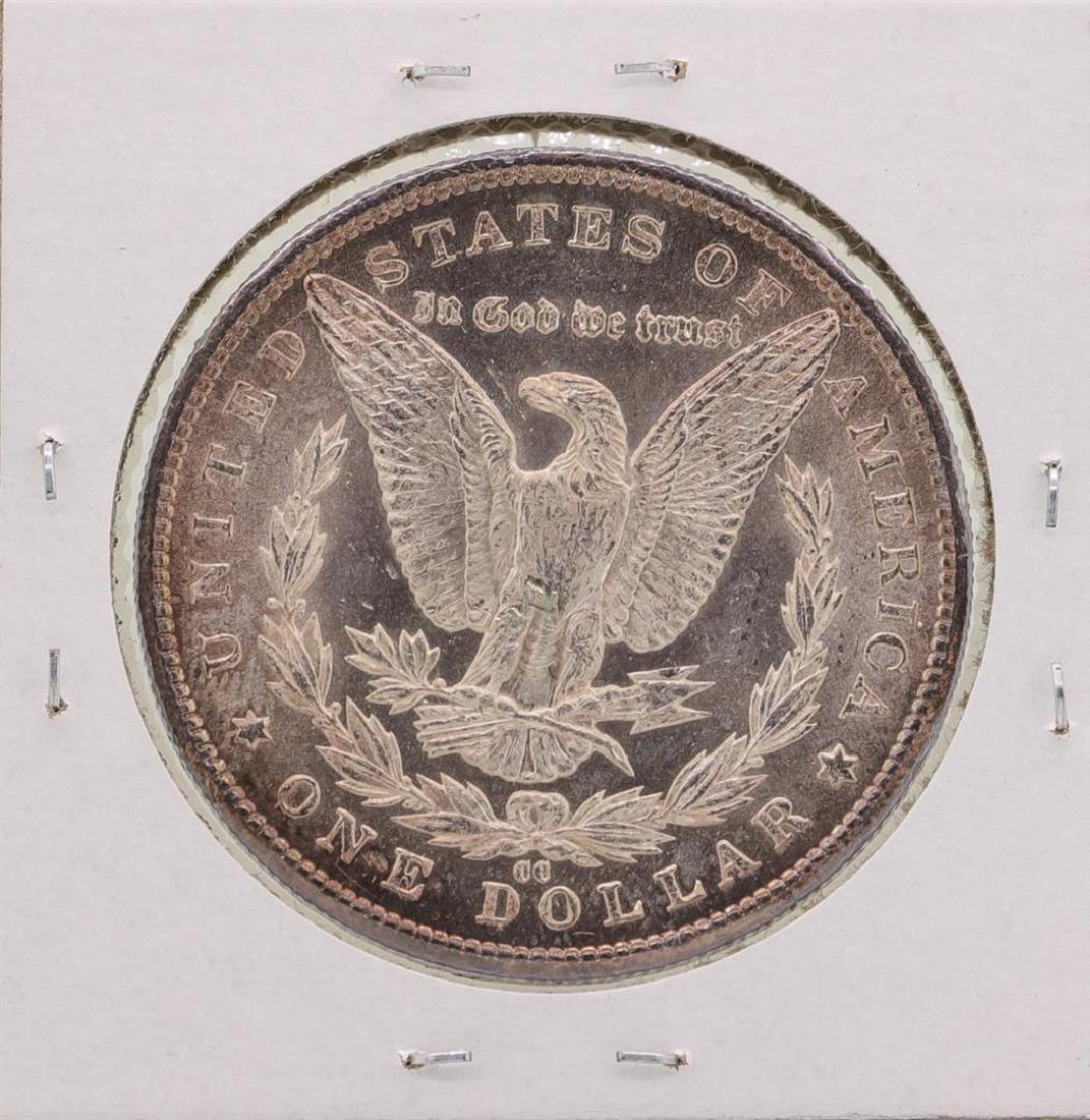 1885-CC $1 Morgan Silver Dollar Coin - 2